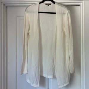 American Eagle one size cream knit cardigan